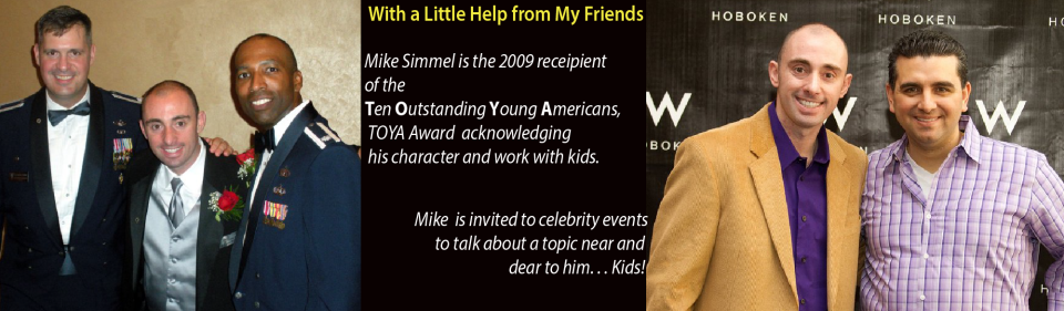Mighy Mike Simmel Acknowledged