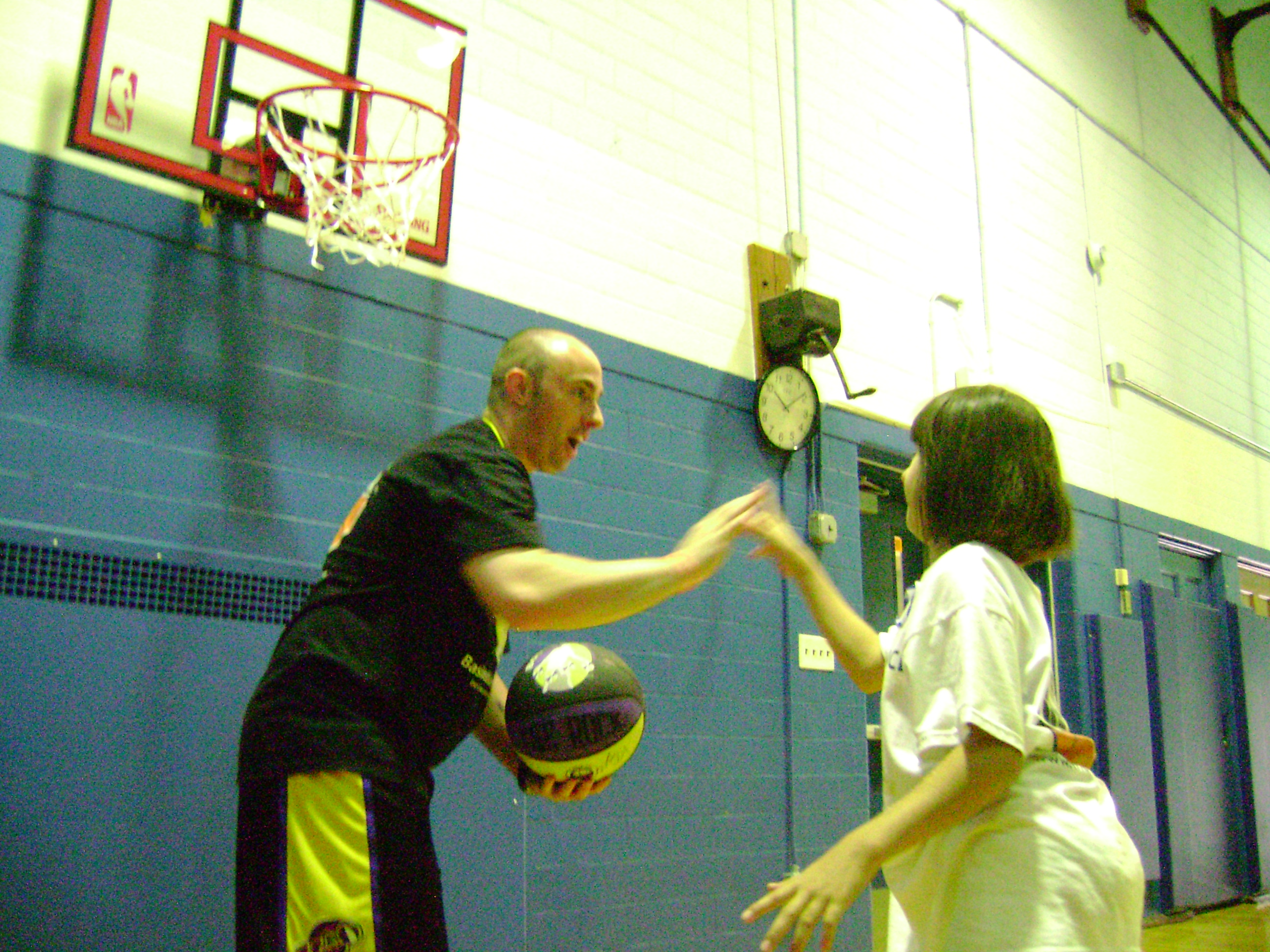 Mike Simmel Basketball Training
